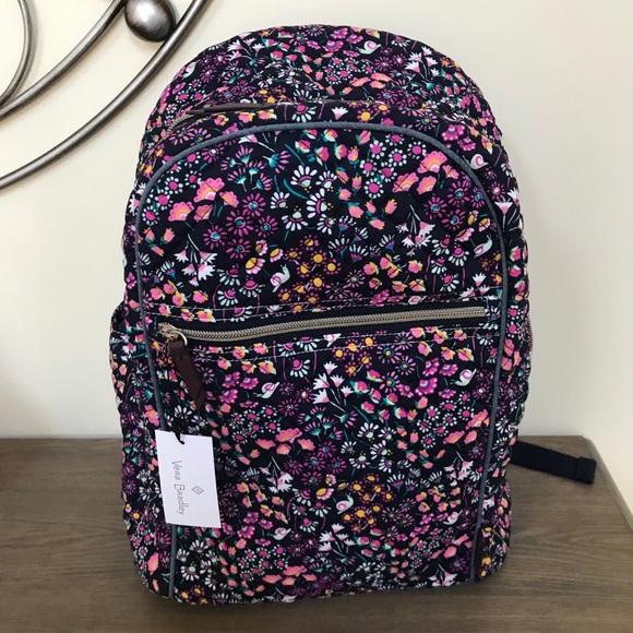 NEW Vera Bradley VBU Backpack in Petite Garden